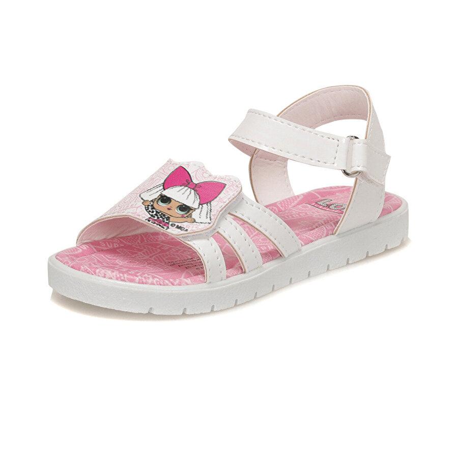 LOL LADY.P Beyaz Kız Çocuk Sandalet