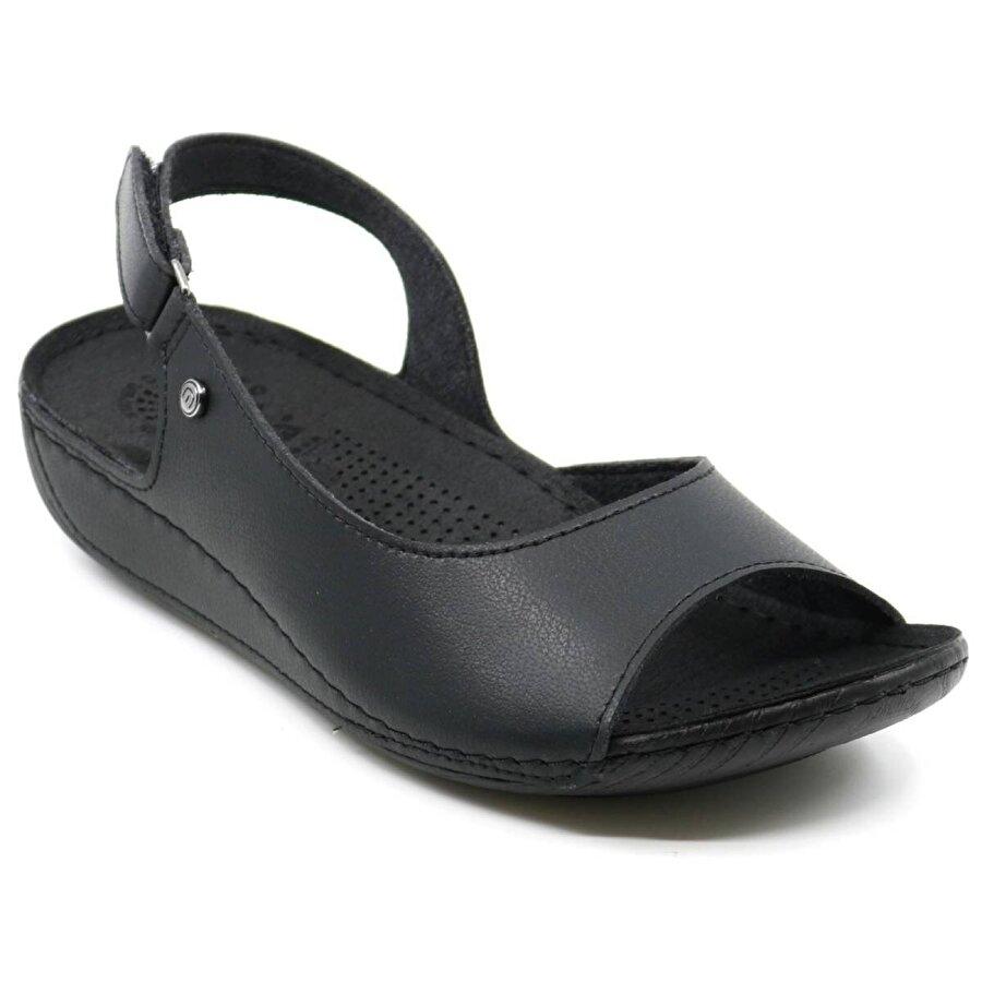 Muya 29170 Günlük Kadın Sandalet Siyah