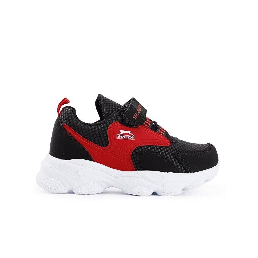 Slazenger EXPRESS Spor Çocuk Ayakkabı Siyah / Kırmızı