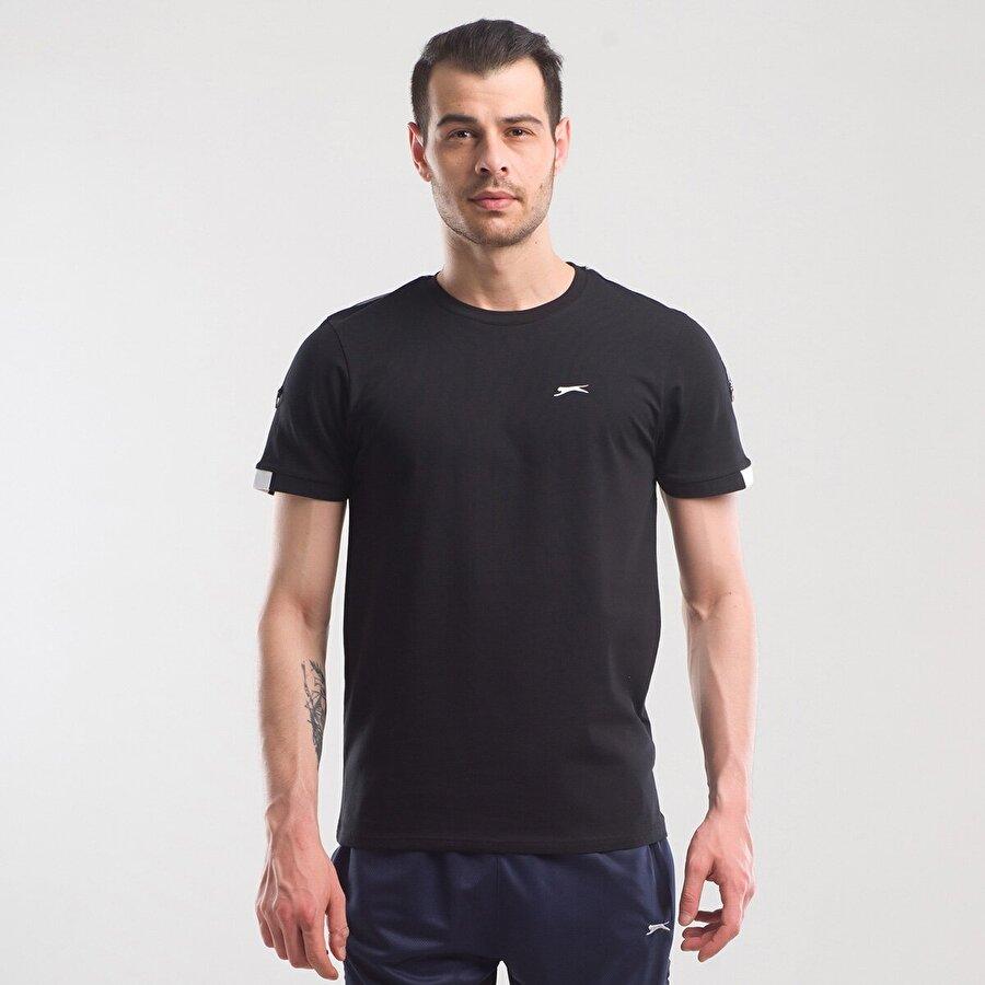 Slazenger PAUL Erkek T-Shirt Siyah