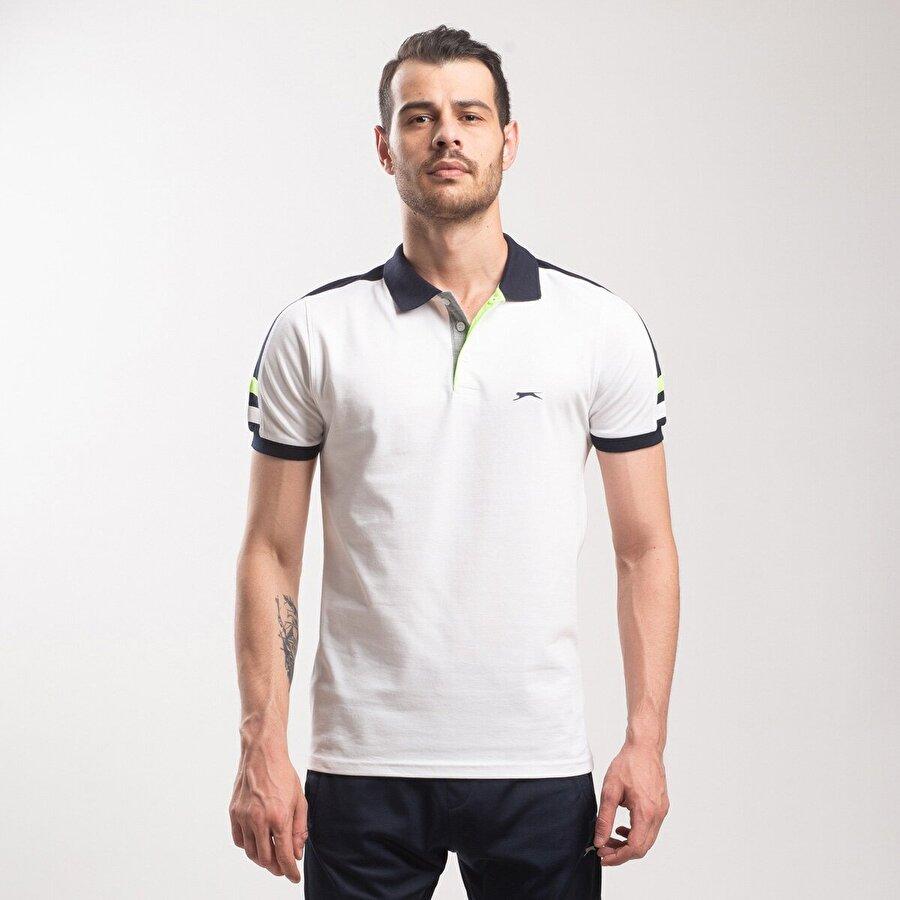 Slazenger PORT Erkek T-Shirt Beyaz