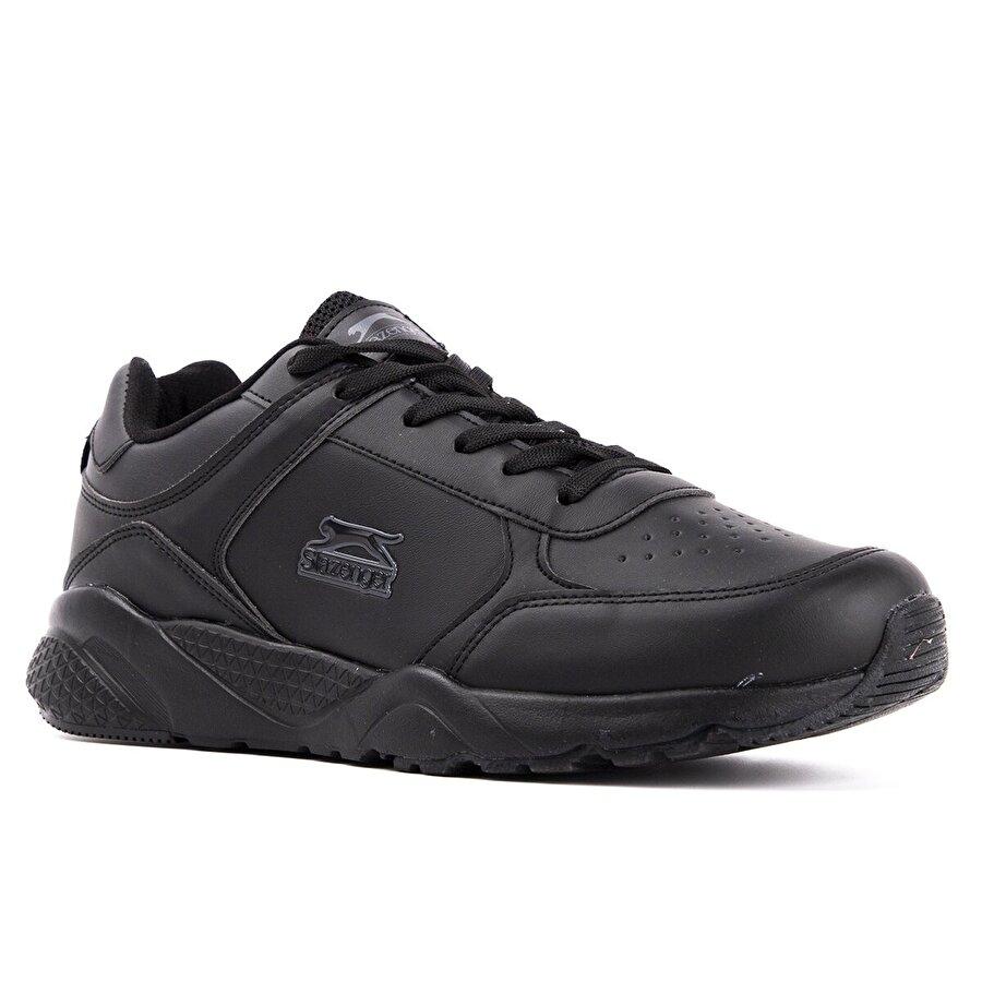 Slazenger IKARUS Koşu & Yürüyüş Erkek Ayakkabı Siyah / Siyah