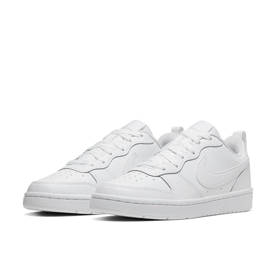 Nike COURT BOROUGH LOW Beyaz Erkek Çocuk Sneaker Ayakkabı