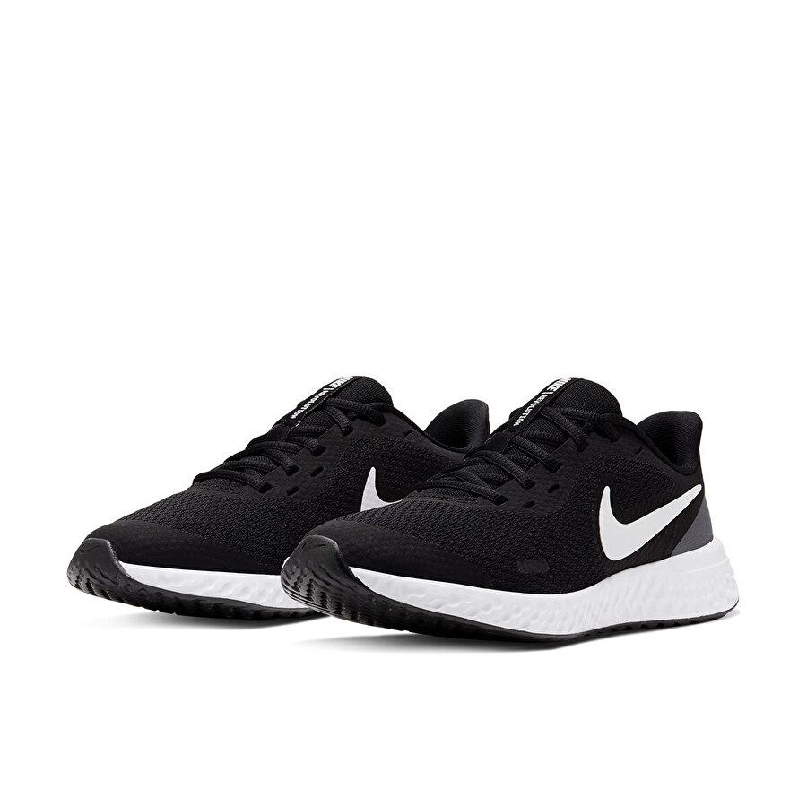 Nike REVOLUTION 5 (GS) Siyah Erkek Çocuk Koşu Ayakkabısı