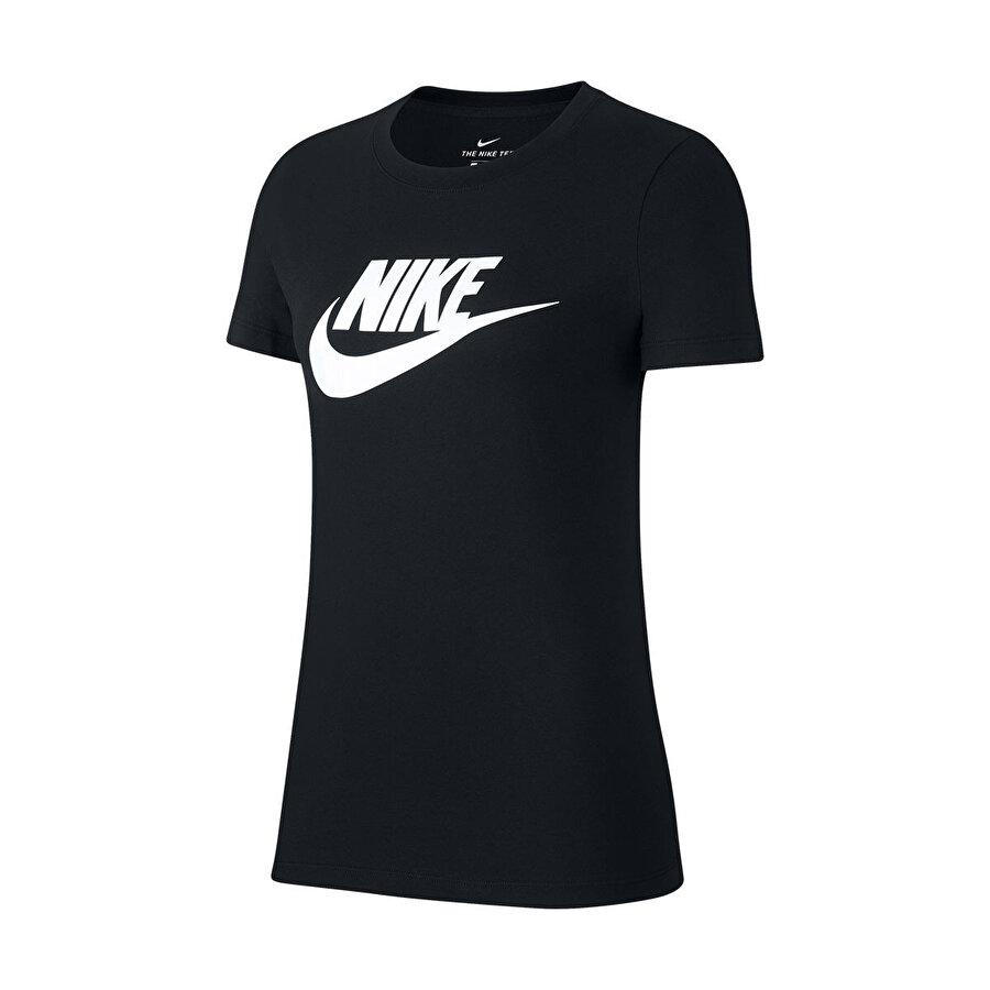 Nike W NSW TEE ESSNTL ICON FUT Siyah Kadın T-Shirt