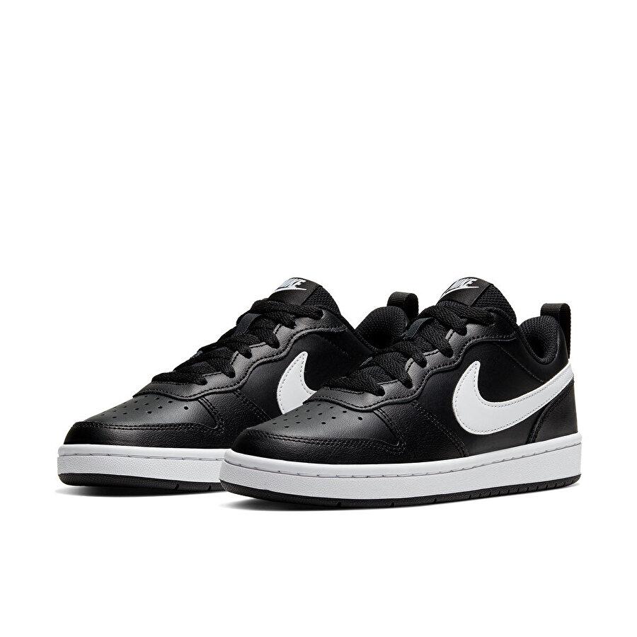 Nike COURT BOROUGH LOW Siyah Erkek Çocuk Sneaker Ayakkabı