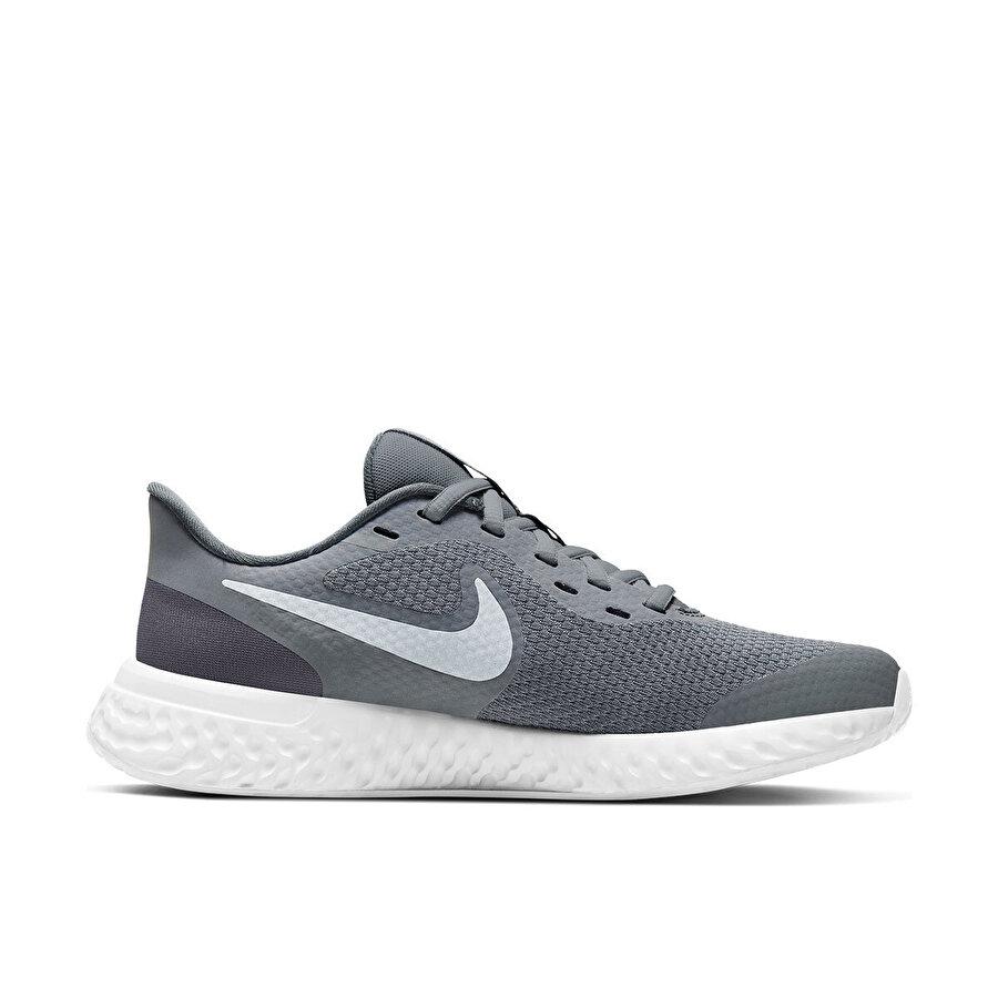 Nike REVOLUTION 5 (GS) Gri Erkek Çocuk Koşu Ayakkabısı