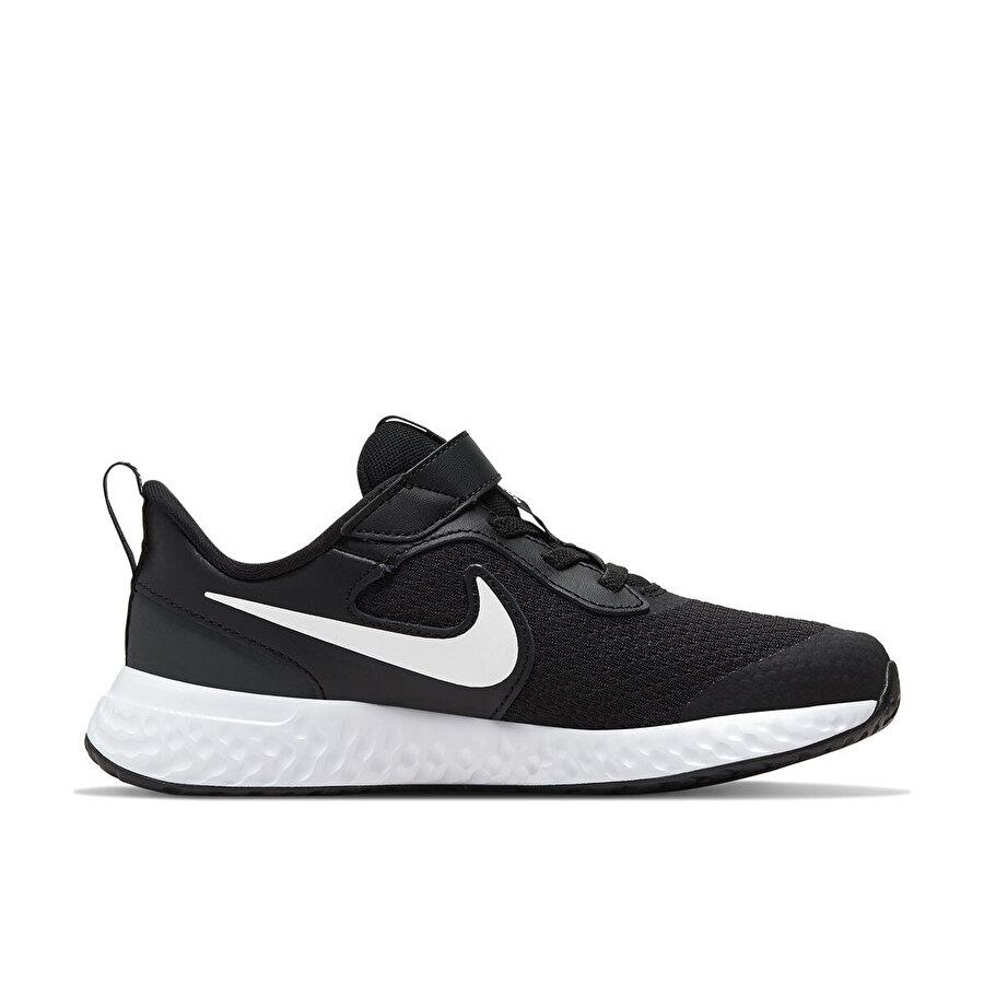 Nike REVOLUTION 5 Siyah Erkek Çocuk Koşu Ayakkabısı