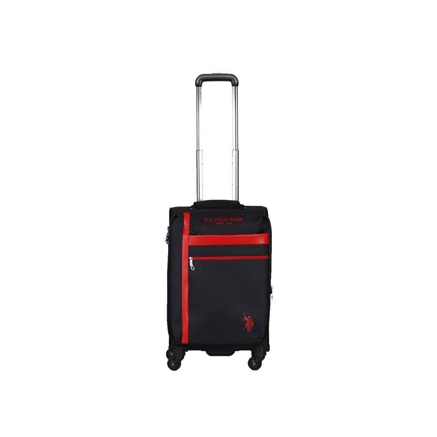 U.S. Polo Assn. Unisex Us Polo Assn . Şerit Detaylı Kabin Boy Valiz PLVLZ20229C