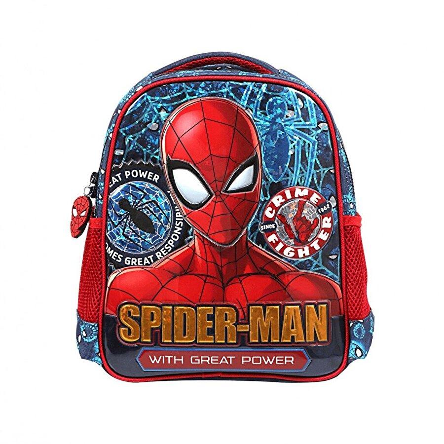 Spiderman Erkek Çocuk Spider-Man  Brick Great Power Anaokulu Çantası 5229