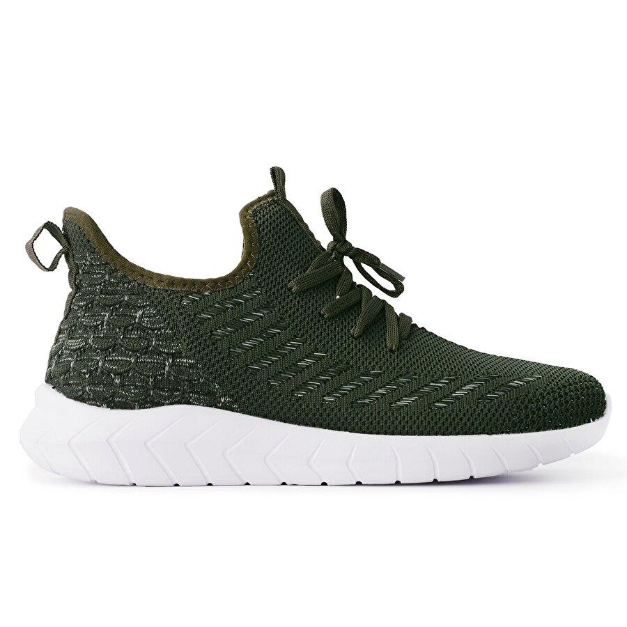 Slazenger ADVENTURE Koşu & Yürüyüş Erkek Ayakkabı Haki / Beyaz
