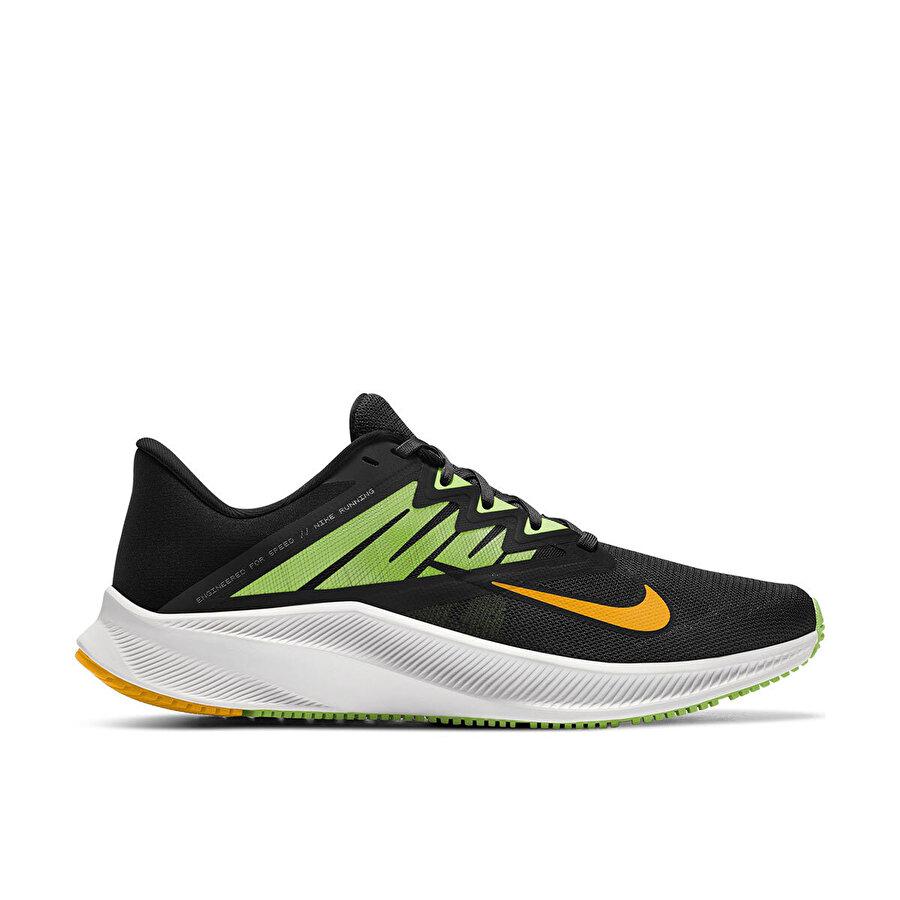 Nike QUEST 3 Siyah Erkek Koşu Ayakkabısı