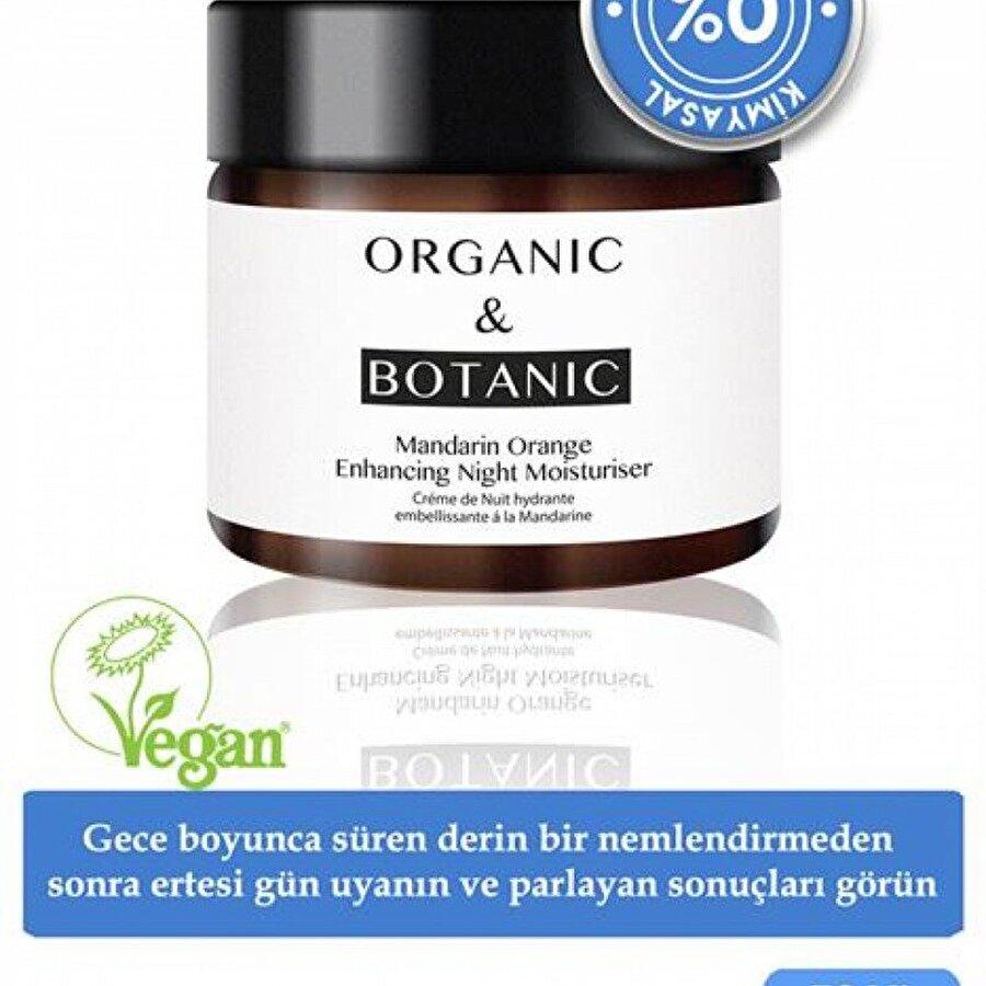 ORGANIC & BOTANIC Organic & Botanic Mandalinalı Güçlendirici Gece Kremi 50 ml