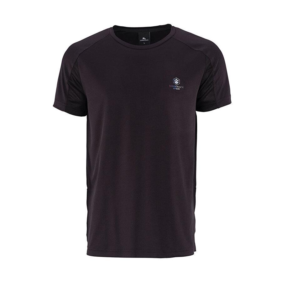Lumberjack BASIC ARM DETAIL T-SHIRT Siyah Erkek T-Shirt