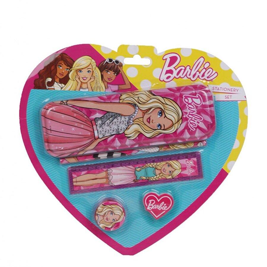 Barbie Unisex  Kırtasiye Seti B-3765-A