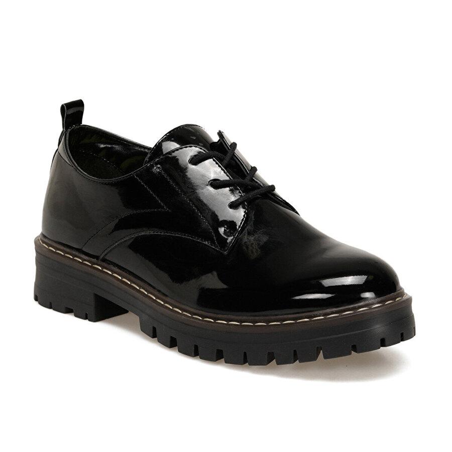 Butigo 20K-030R Siyah Kadın Oxford Ayakkabı