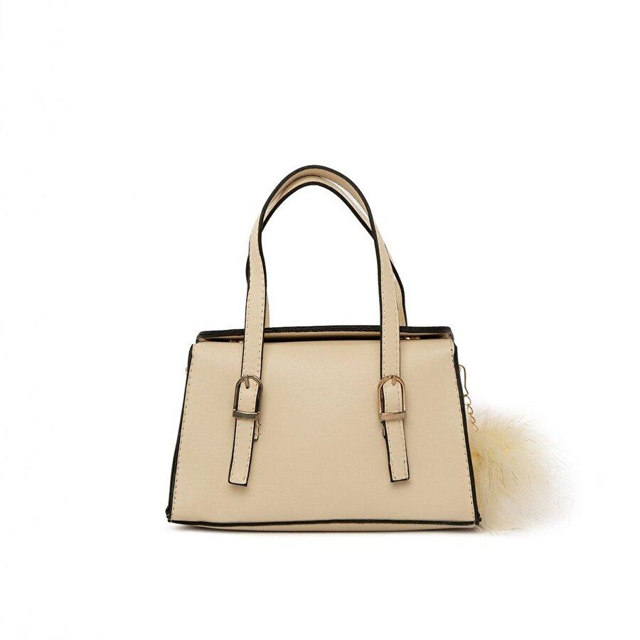 Bagmori Çift Kemer Detaylı Mini Çanta