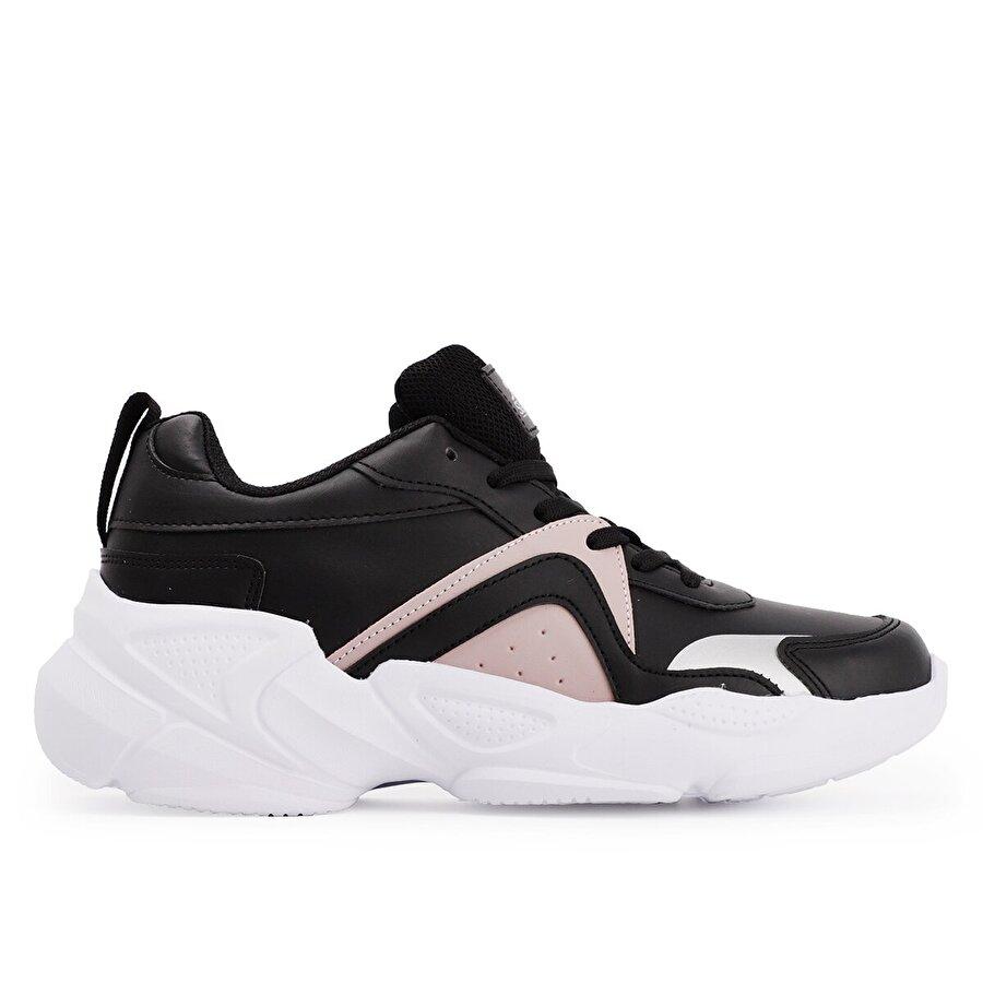 Slazenger INWESTA Günlük Giyim Kadın Ayakkabı Siyah / Pembe