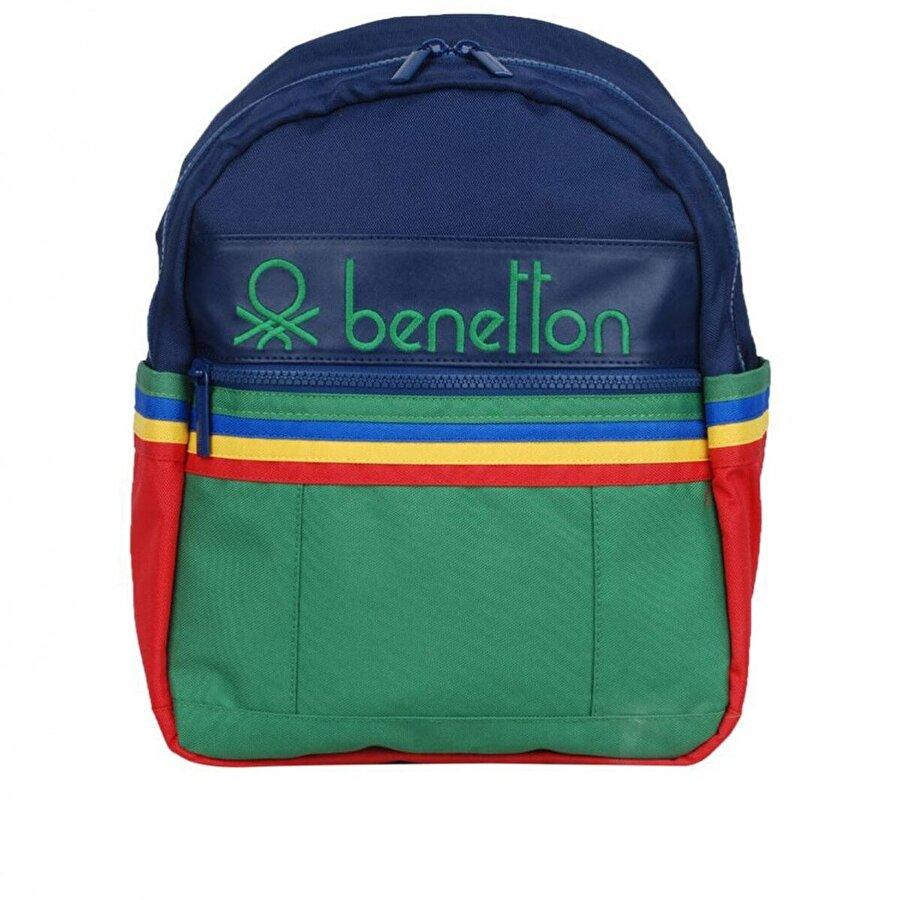 Benetton Unisex  İki Bölmeli Anaokul Çantası 70040