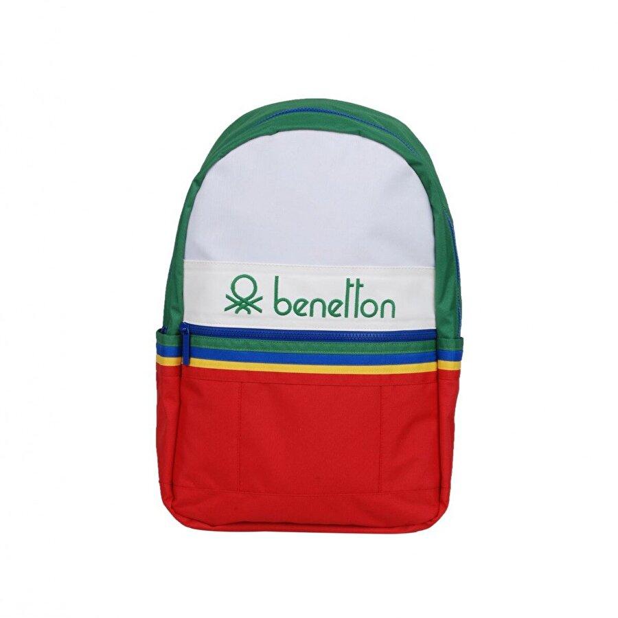 Benetton Unisex  Ön Bölmeli Sırt Çantası 70032