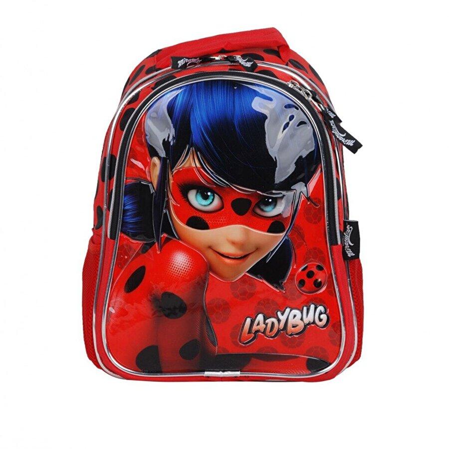 Ladybug Kız Çocuk  Miraculous Benekli Sırt Çantası 2200