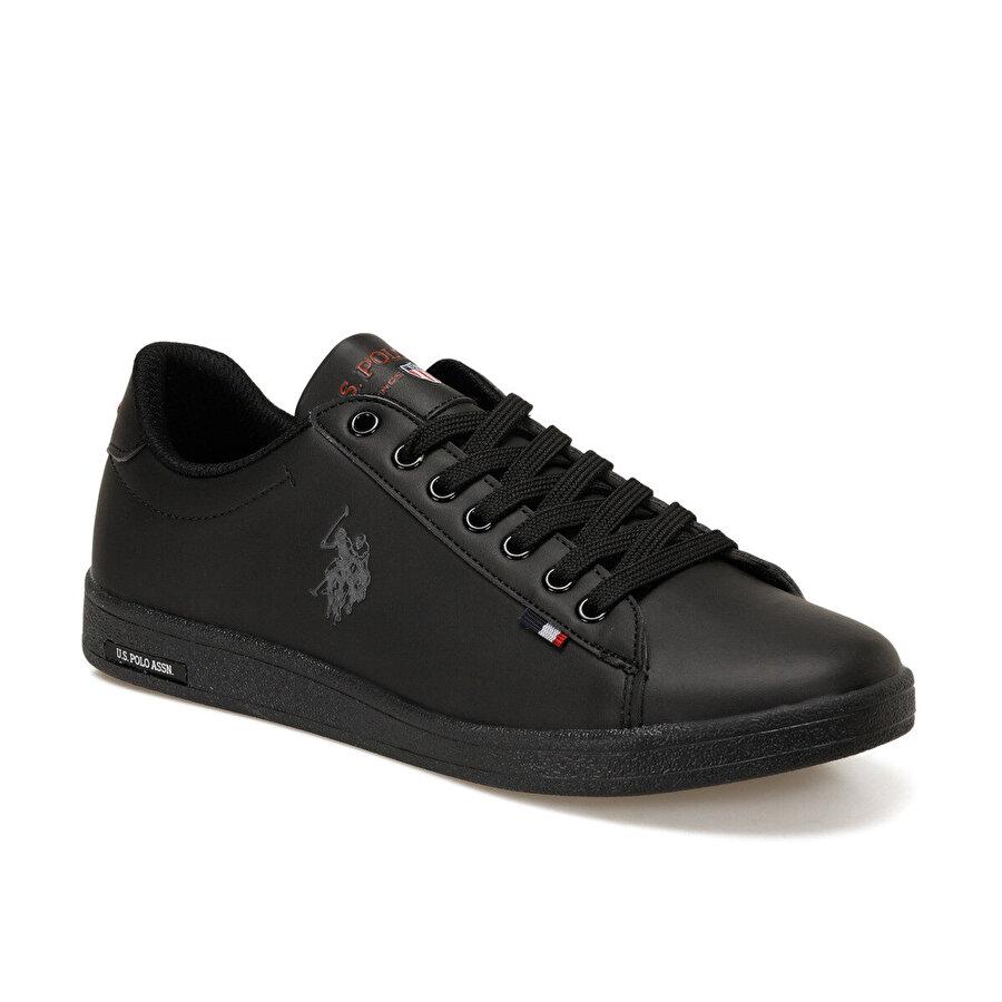 U.S. Polo Assn. FRANCO DHM Siyah Erkek Sneaker Ayakkabı