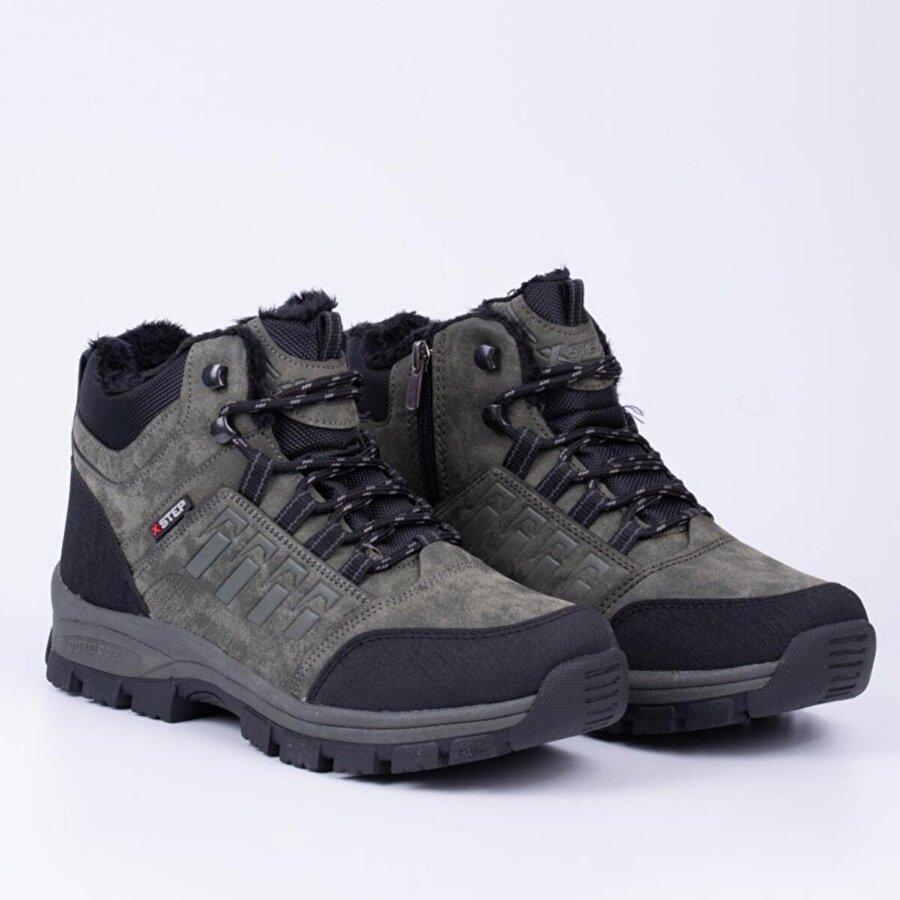 Bay Şerif X-Step Kış Sezonu Outdoor Erkek Ayakkabı Bot - Haki