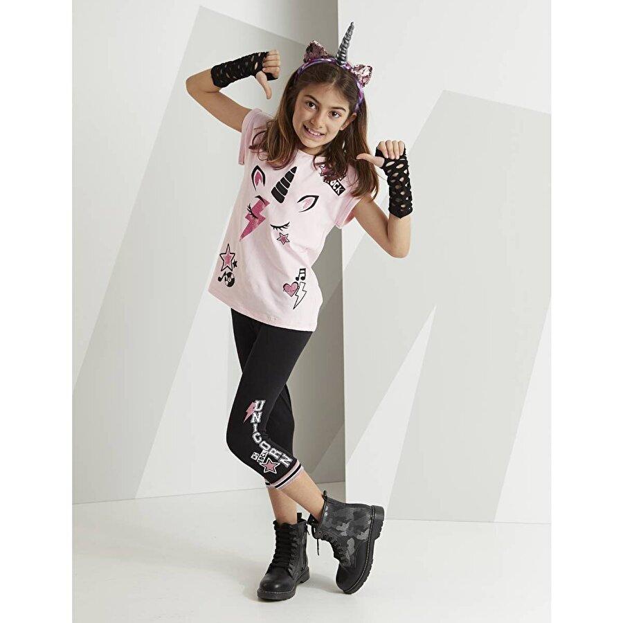 Mushi Rocker Unicorn Kapri Takım