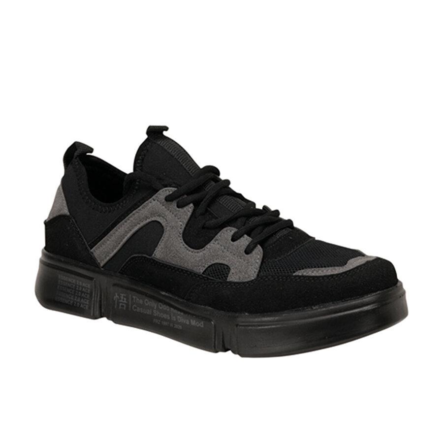 Forester EC-2000 Siyah Erkek Ayakkabı