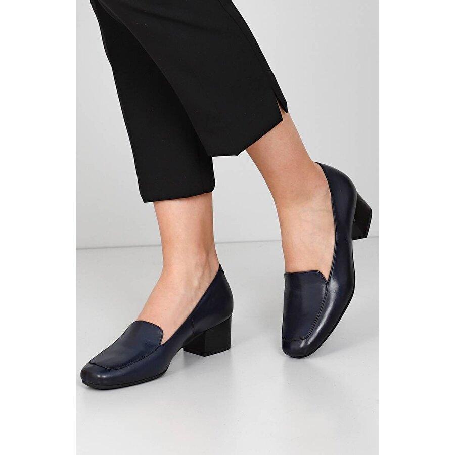 Gön Hakiki Deri Kadın Topuklu Ayakkabı 13312
