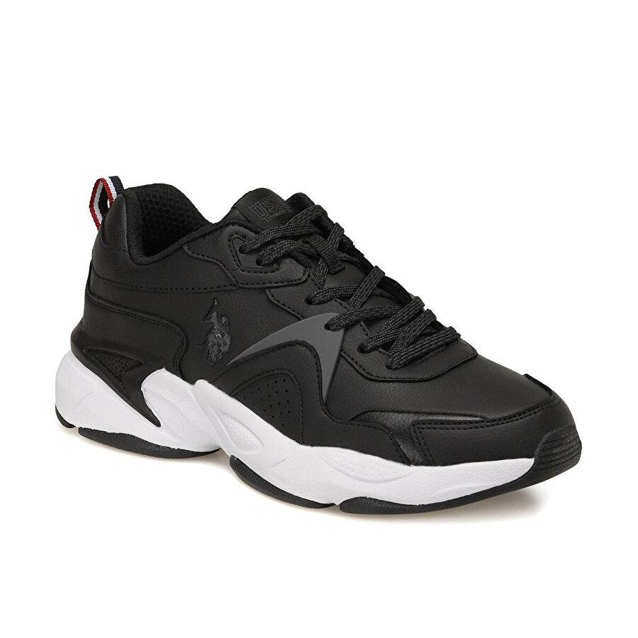 U.S. Polo Assn. JIMMY Siyah Erkek Sneaker Ayakkabı