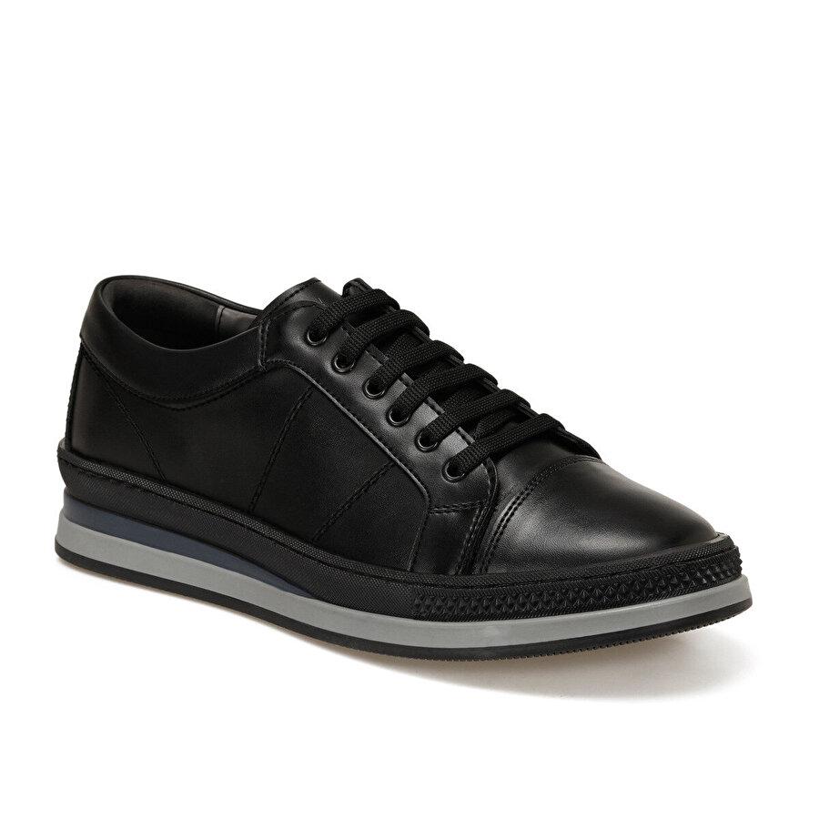 JJ-Stiller 81113-3 Siyah Erkek Klasik Ayakkabı