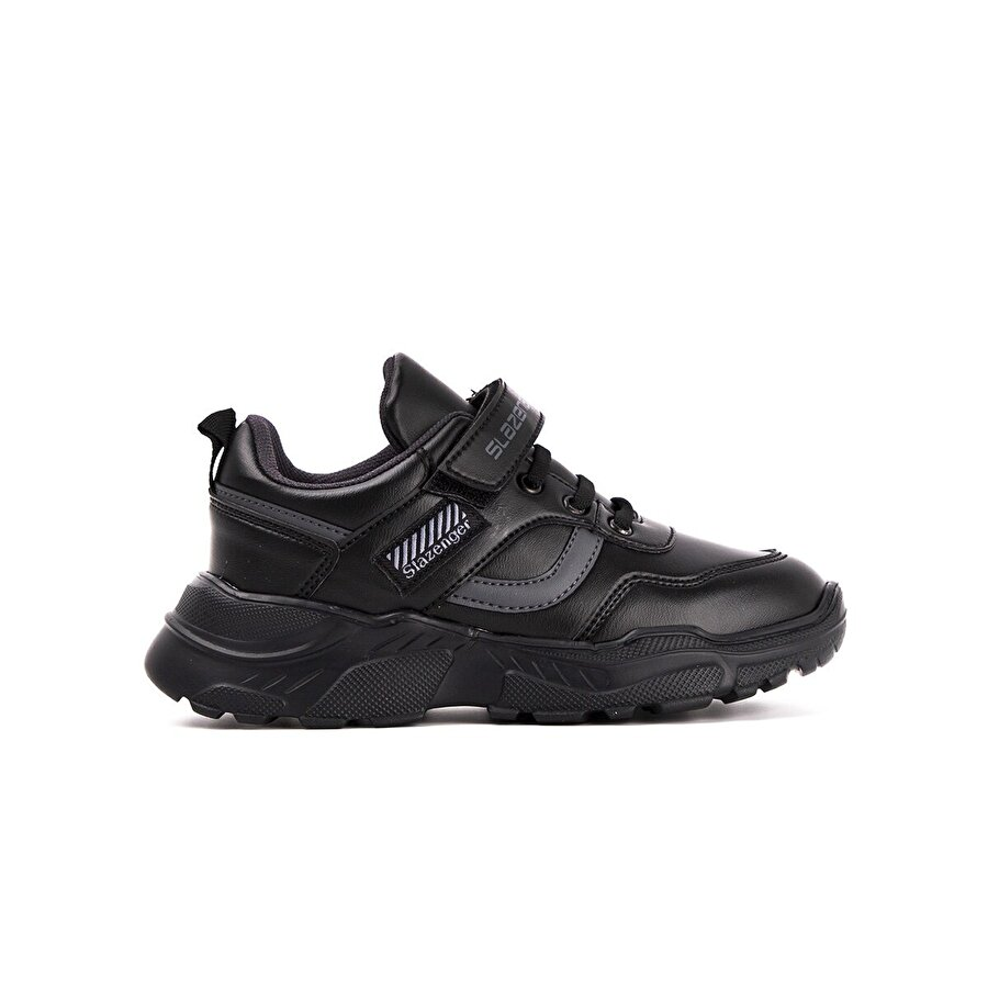 Slazenger ETNA Spor Çocuk Ayakkabı Siyah / K.Gri