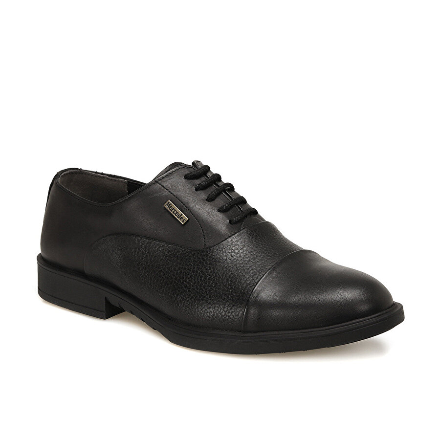 Mercedes YEGE Siyah Erkek Klasik Ayakkabı