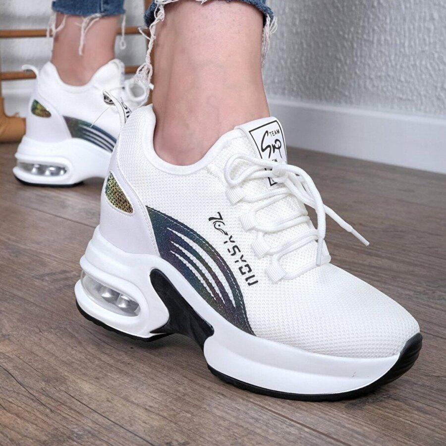 Hayati Arman Kadın Yüksek Tabanlı Spor Ayakkabı