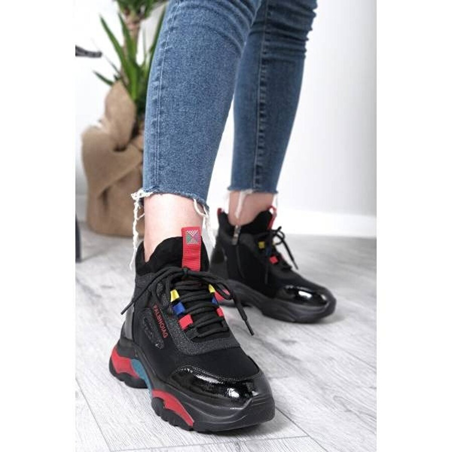 Hayati Arman Kadın Gizli Yüksek Tabanlı Spor Ayakkabı & Sneaker & Bot