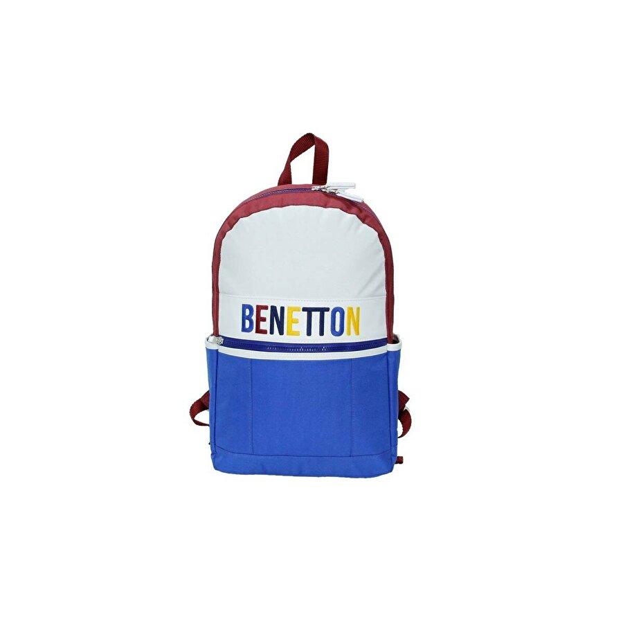 Benetton Unisex  Ön Cepli Sırt Çantası 70062