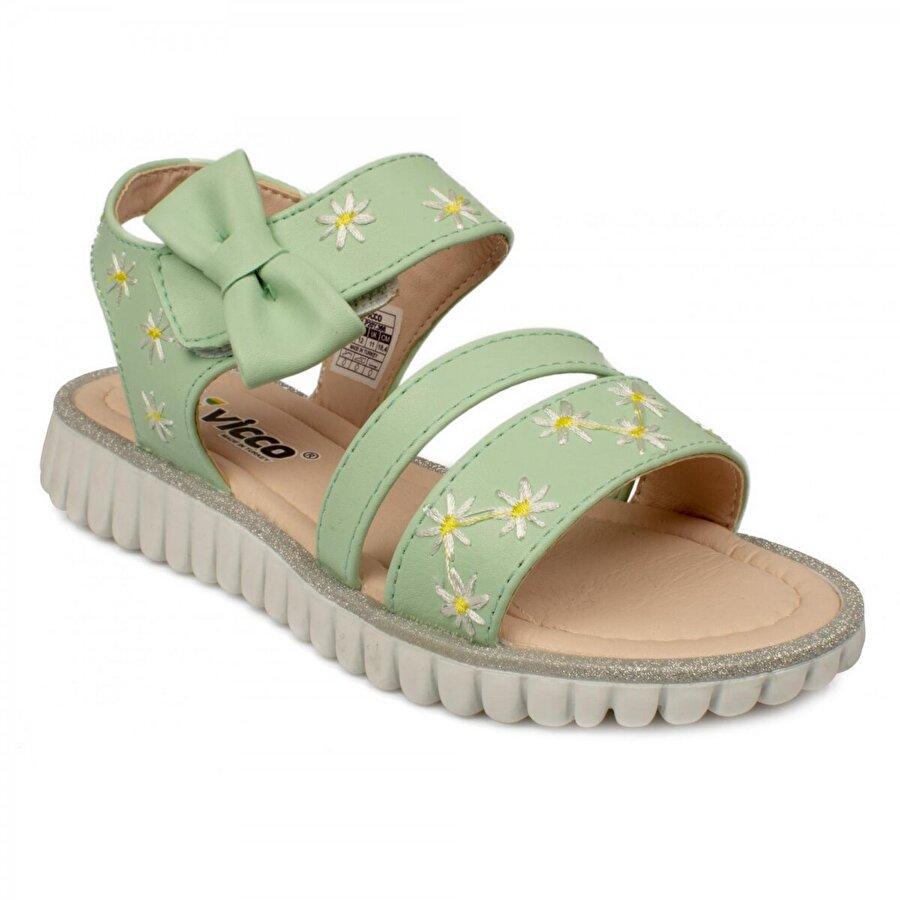 Vicco 321.b20Y.366 Bebe Yeşil Çocuk Sandalet