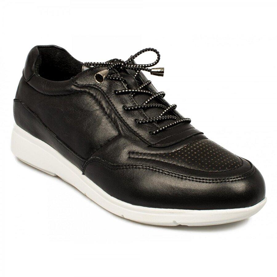 Stella 20200Z Casual Günlük Bağlı Siyah Kadın Ayakkabı