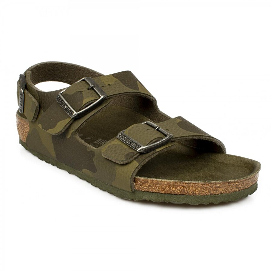 Birkenstock Milano Haki Çocuk Sandalet