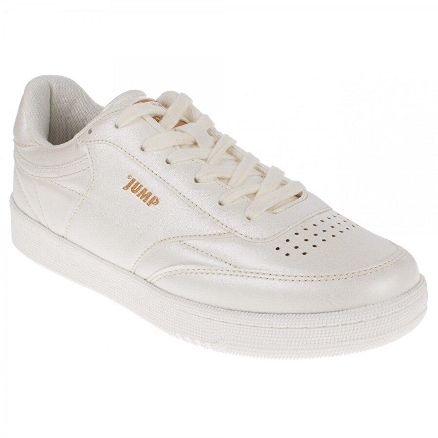 Jump 21203 Athletics Bağlı Beyaz Kadın Spor Ayakkabı