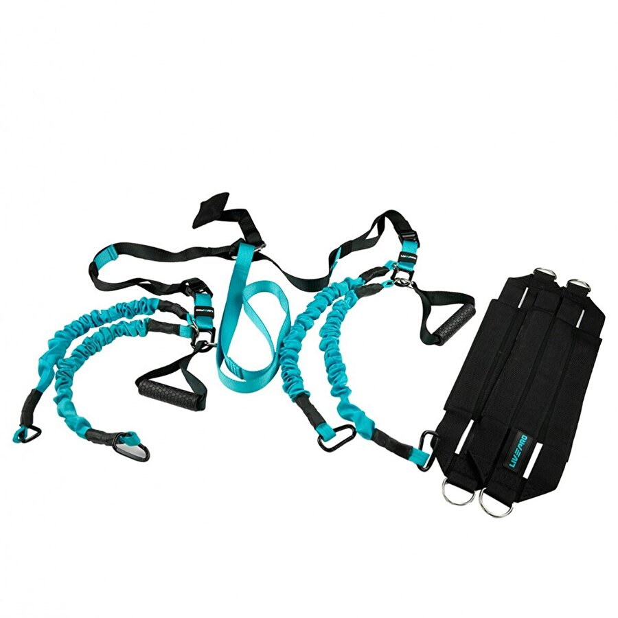 Livepro LP8166 Elastic Suspension Trainer-Asılma Egzersiz Seti