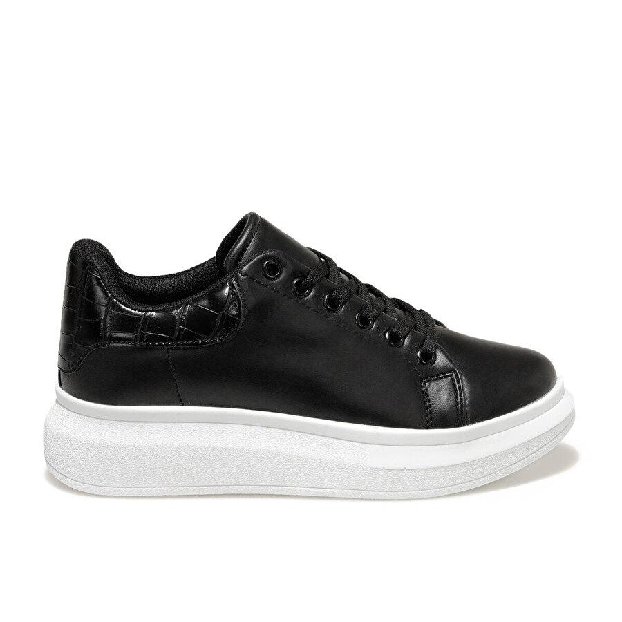 Butigo 20K-103 Siyah Kadın Havuz Taban Sneaker