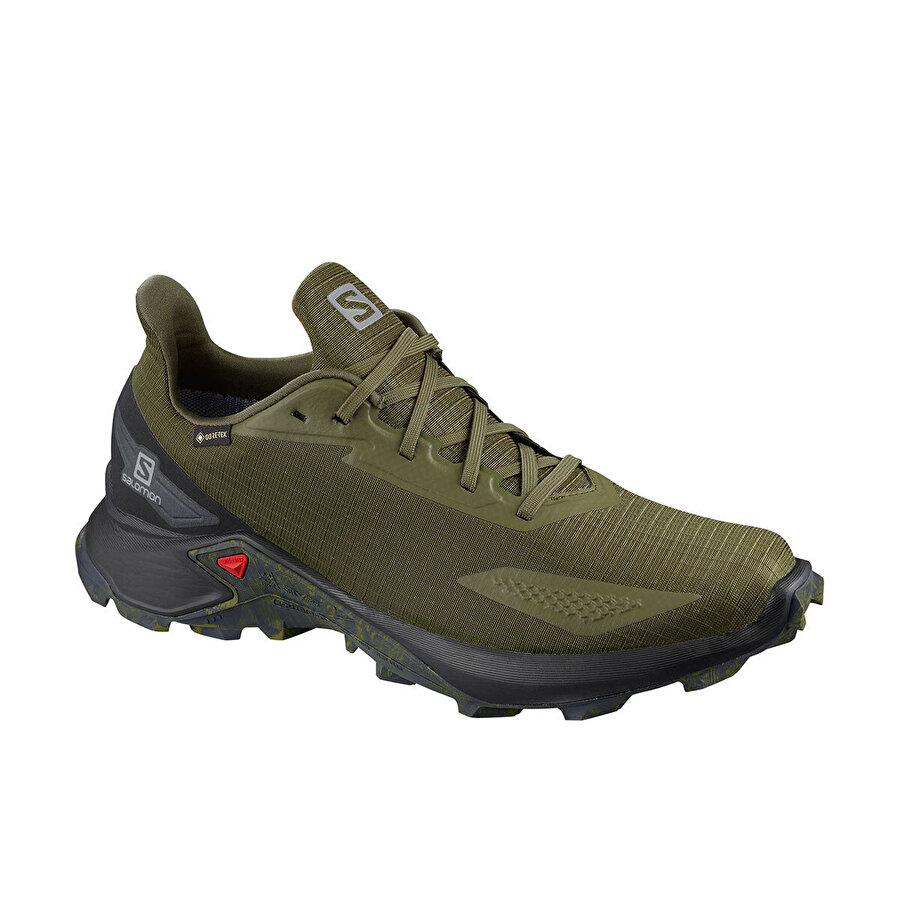 Salomon ALPHACROSS BLAST GTX Haki Erkek Koşu Ayakkabısı