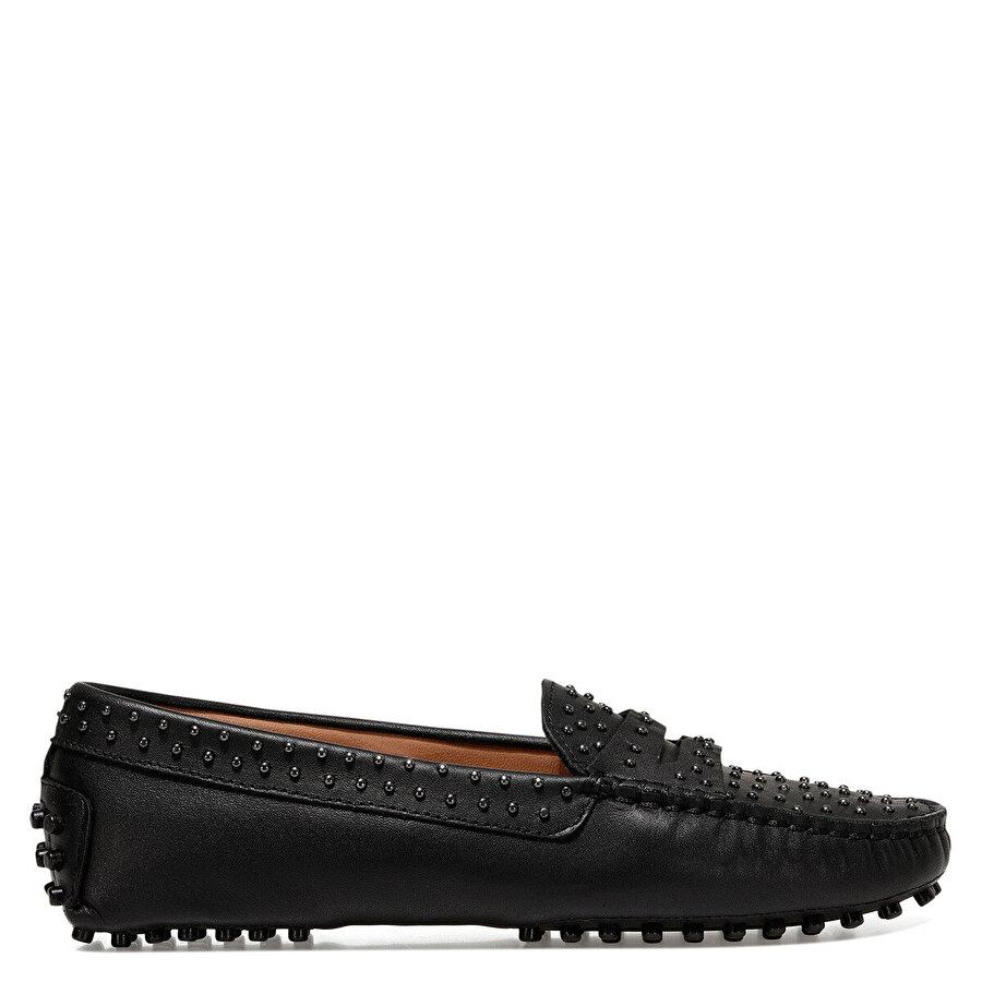 Nine West HOLTE2 Siyah Kadın Loafer Ayakkabı