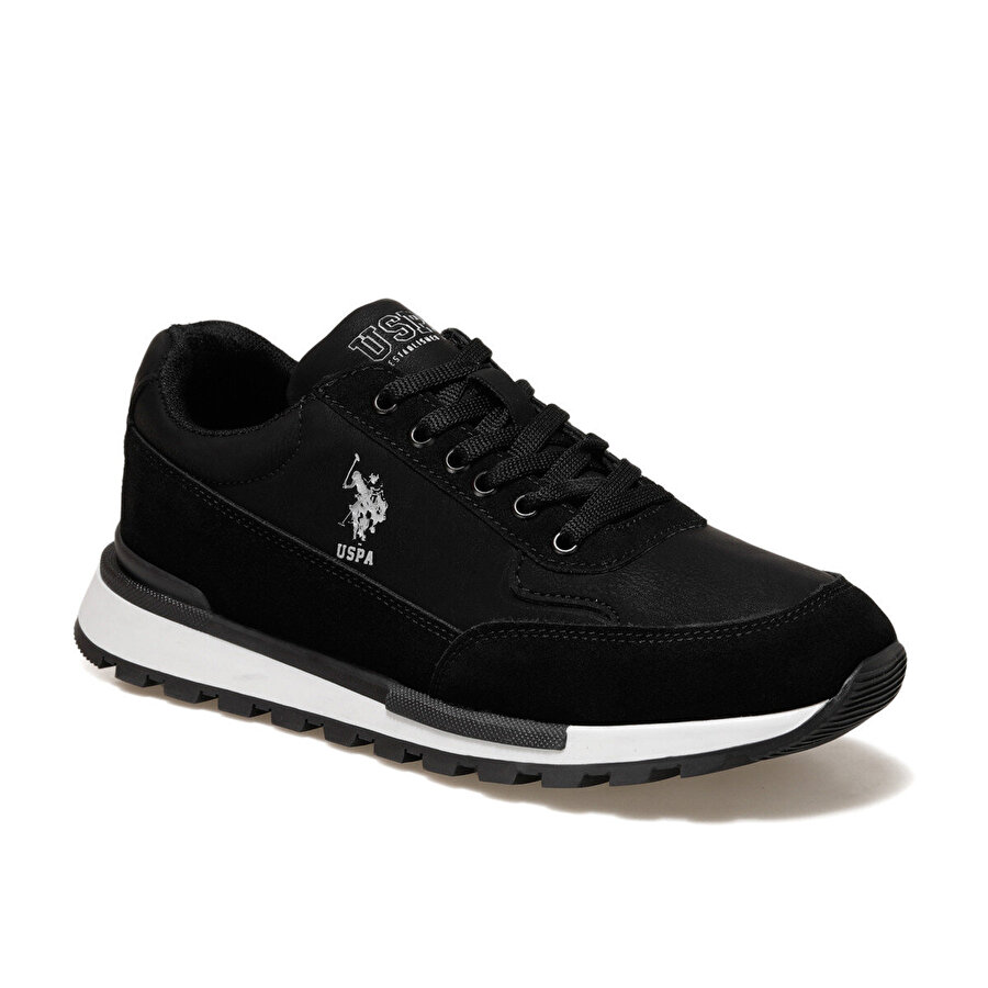 U.S. Polo Assn. EPIC Siyah Erkek Sneaker Ayakkabı