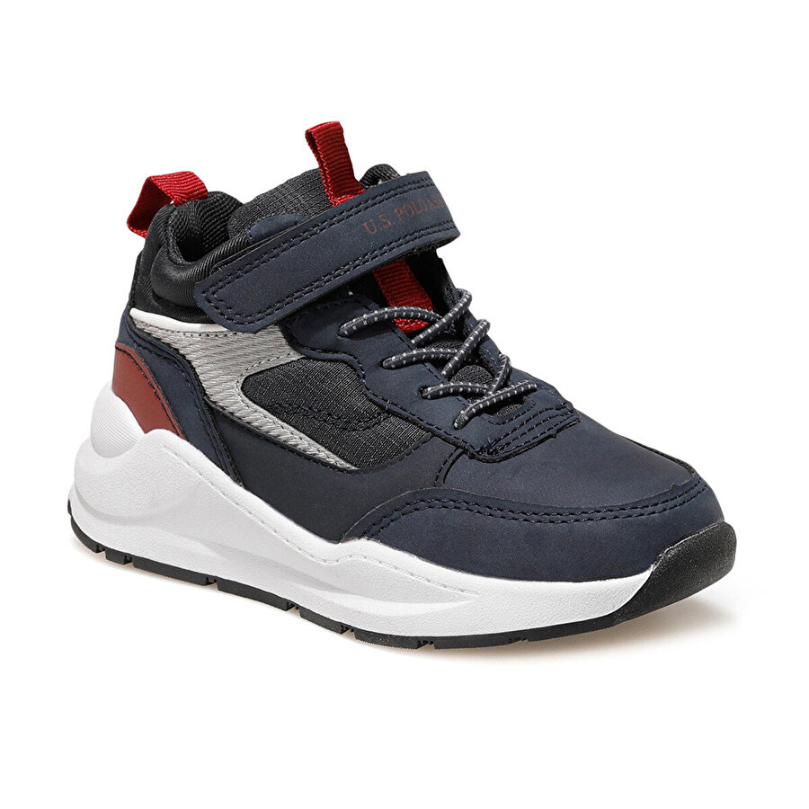 U.S. Polo Assn. OLIVE Lacivert Erkek Çocuk Sneaker Ayakkabı