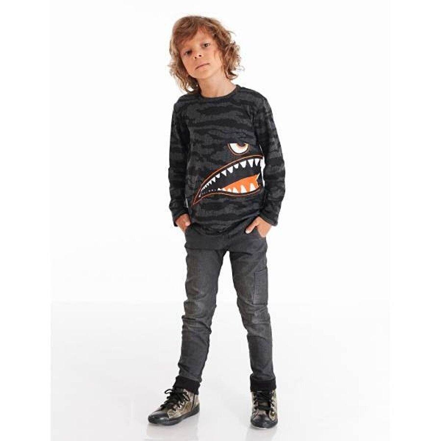 Mushi Canavar Erkek Çocuk Gabardin Pantolon Takım