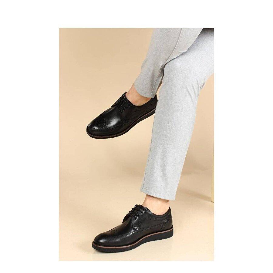 Fast Step Hakiki Deri Erkek Oxford Ayakkabı 095MA4051-1