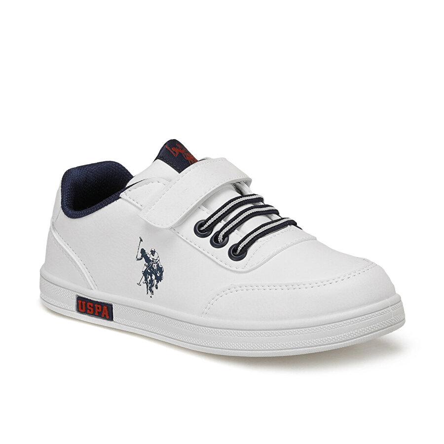 U.S. Polo Assn. CAMERON WT 9PR Beyaz Erkek Çocuk Sneaker